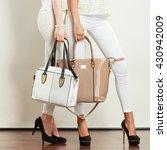 fashion accessories for women.... | Shutterstock . vector #430942009