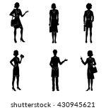 vector illustration of a six...   Shutterstock .eps vector #430945621