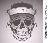 skull face   Shutterstock .eps vector #430991467