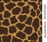 Giraffe Skin. Classical Animal...