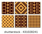 textile design and scrap... | Shutterstock .eps vector #431028241