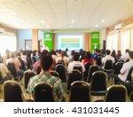 blurred image of people in... | Shutterstock . vector #431031445
