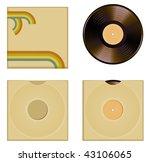 vector illustration of vinyl...