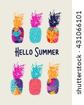 Hello Summer Lettering Concept...