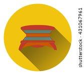 icon of solarium. flat design....