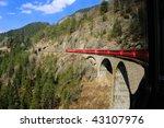 Passenger Train Crossing A...