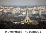 ������, ������: Mother Motherland Kiev panorama