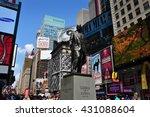 new york city   june 29  2013   ... | Shutterstock . vector #431088604