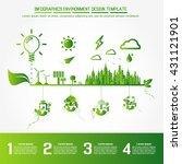 infographics environment design ... | Shutterstock .eps vector #431121901