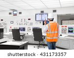 electrical engineer working at... | Shutterstock . vector #431173357