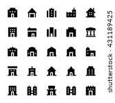 city elements vector icons 2 | Shutterstock .eps vector #431189425
