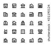 city elements vector icons 1   Shutterstock .eps vector #431190124