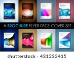 set ofbrochure templates  flyer ... | Shutterstock . vector #431232415