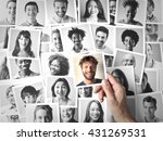 photos of smiling people | Shutterstock . vector #431269531
