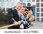 Group Of Happy Multiethnic...