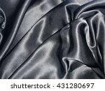 the black silk  | Shutterstock . vector #431280697
