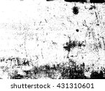 distressed and gritty vector... | Shutterstock .eps vector #431310601