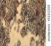 Texture Of Print Fabric Stripe...
