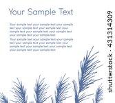 composite image of twigs ... | Shutterstock .eps vector #431314309