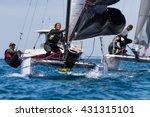 punta ala   3 june  teams... | Shutterstock . vector #431315101
