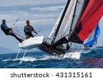 punta ala   3 june  teams... | Shutterstock . vector #431315161