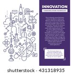 vector creative concept... | Shutterstock .eps vector #431318935