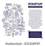 vector creative concept... | Shutterstock .eps vector #431318959