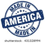 made in america stamp | Shutterstock .eps vector #431328994