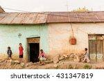 omo  ethiopia   september 21 ... | Shutterstock . vector #431347819