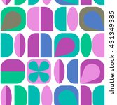 seamless vector texture with... | Shutterstock .eps vector #431349385