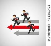 businesspeople avatar design  | Shutterstock .eps vector #431361421