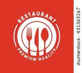 restaurant menu design  | Shutterstock .eps vector #431365267