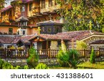 old ortodox monastery in varna  ... | Shutterstock . vector #431388601