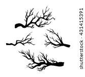 hand drawn vector illustration... | Shutterstock .eps vector #431415391