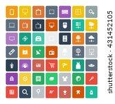 set of 49 universal icons....