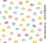 seamless pattern with colorful... | Shutterstock .eps vector #431458681