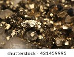 Pyrite And Crystals Mineral...