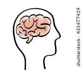 big idea design. creative icon. ...   Shutterstock .eps vector #431477419