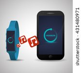 smart device design. gadget... | Shutterstock .eps vector #431480971