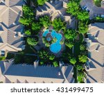 aerial view of typical multi... | Shutterstock . vector #431499475