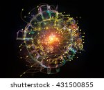 directions of technology series.... | Shutterstock . vector #431500855