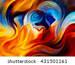 colors of the mind series.... | Shutterstock . vector #431501161