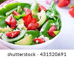 Summer Salad With Strawberry ...