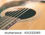Closeup Shot Of Guitar And...