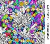 vector seamless texture | Shutterstock .eps vector #431538595
