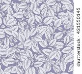 seamless pattern with hand... | Shutterstock .eps vector #431550145