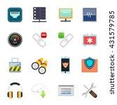 internet icons set | Shutterstock .eps vector #431579785