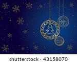 christmas decoration.   Shutterstock .eps vector #43158070