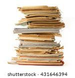 stack of old books as... | Shutterstock . vector #431646394
