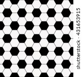 football pattern background | Shutterstock .eps vector #431653915